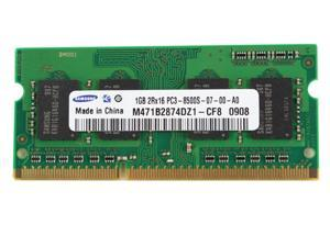 SAMSUNG M471B2874DZ1-CF8 PC3-8500 1GB DDR3 1066MHz Laptop Memory Modules-F679F