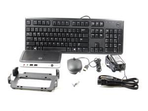 Genuine DELL Wyse 3010 Tx0 T00X 0GB FLASH / 1GB RAM Thin OS Lite Thin Client- 72668- Complete Kit