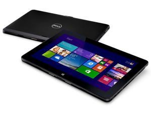 """DELL Venue 11 Pro 7130 Vpro - 7000 Series - 10.8"""" HD - Core i5-4300Y (3M Cache, up to 2.30 GHz) 8GB Memory 120GB SSD Tablet Windows 8.1 Pro WiFi BT Black Color - 15597Z1"""