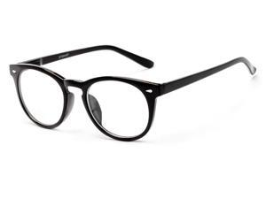 Readers.com The Beethoven Blended Bifocal +2.50 Black  Unisex Round Reading Glasses