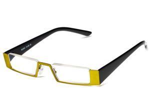 Readers.com The Checker +1.75 Green/Black Reading Glasses
