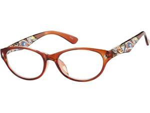 Readers.com The Rebecca +2.75 Brown Reading Glasses