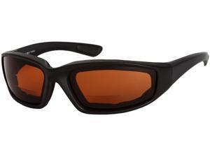 Readers.com The Trailblazer Bifocal Driving Reader +2.00 Black  Unisex Sport & Wrap-Around Reading Sunglasses
