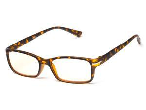 Readers.com The Chairman Computer Reader +2.00 Matte Tortoise Reading Glasses