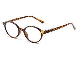 Readers.com The Prescott +4.00 Tan Tortoise Reading Glasses