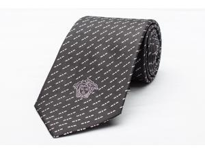 Versace Men's Medusa Logo Silk Neck Tie