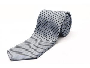 Ermenegildo Zegna Men Slim Silk Neck Tie Blue