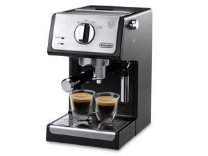 "DeLonghi ECP3420 15"" Bar Pump Espresso and Cappuccino Machine, Black"