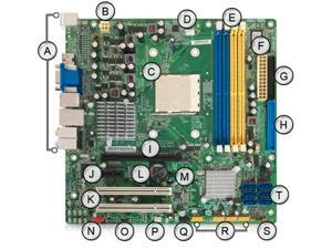 Acer Veriton M421G AMD AM2 DDR2 Motherboard RS780M03G1
