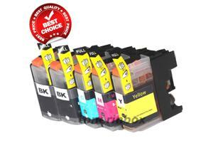 5 Pack inkinbox® LC103 LC-103 XL Compatible Ink Set for Brother MFC-J285DW, MFC-J4310DW, MFC-J4410DW, MFC-J450DW, MFC-J4510DW, MFC-J4610DW, MFC-J470DW, MFC-J4710DW, MFC-J475DW, MFC-J870DW, MFC-J875DW