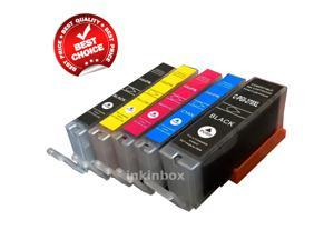inkinbox® 5 Pack Ink Cartridge Combo Replace Canon PGI-270XL CLI-271XL For Canon PIXMA MG5720 MG5721 MG5722 MG6820 MG6821 MG6822 MG7720 Printers