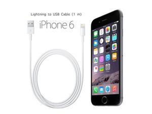 Lightning Cable 3ft (Three Feet) Element Series 8 pin to USB SYNC Cable Charger Cord for Apple iPhone 5 / 5s / 5c / 6 / 6 Plus /6s / 6s Plus, iPod 7, iPad Mini / mini 2/ mini 3, iPad 4 / iPad Air