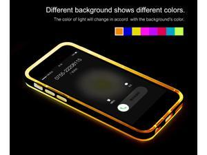 Original Rock Incoming Call Flash Crystal TPU Light Tube Protective Shell For iPhone 5 5s Case Cover