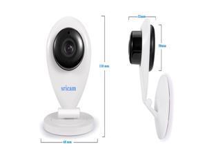 Sricam Mini Wifi IP Camera Wireless 720P HD Smart Camera P2P Baby Monitor CCTV Security Camera Home Protection Mobile Remote Cam