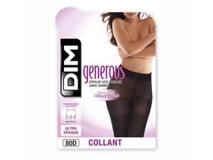 Dim Womens Generous Ultra Opaque Tights Black Size M