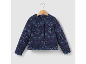 Abcd'r Girls Zip-Up Sweatshirt Fabric Jacket, 3-12 Years Blue 5 Years - 42 In.