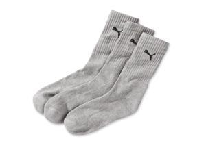 Puma Mens Pack Of 3 Pairs Of Tennis Socks With Boucle Interior Black Size 35/38