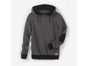 R Teens Teen Boys Knitted Hoodie, 10-16 Years Grey Size 16 Years - 68 In.