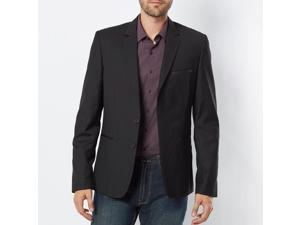 La Redoute Mens Blazer-Style Jacket With Pockets Black Size Us 12