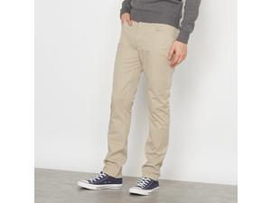 R Edition Mens Slim Fit Trousers Beige Size Us 37W Fr 46