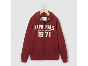 Kaporal Teen Boys Hoodie, 10 - 16 Yrs Red Size 10 Years - 54 In.