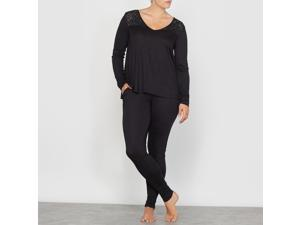 Castaluna Womens Pyjamas Black Size Us 20/22 - Fr 50/52