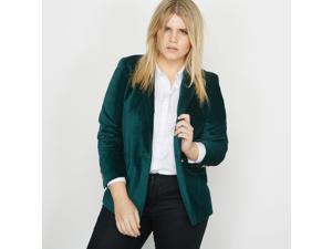 Castaluna Womens Velvet Jacket Green Size Us 16 - Fr 46