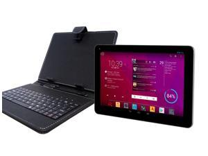 """DJC Touchtab4 8"""" Tablet PC Basic Keyboard Bundle – Android 4.4,1.6GHZ, 8GB/1GB"""