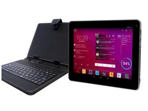 """DJC Touchtab4 9.7"""" Tablet PC Basic Keyboard Bundle – Android 4.4,1.6GHZ, 16GB"""