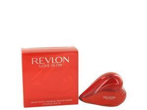 Love is On by Revlon Eau De Toilette Spray 1.7 oz
