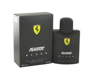 Ferrari Scuderia Black by Ferrari Eau De Toilette Spray 4.2 oz