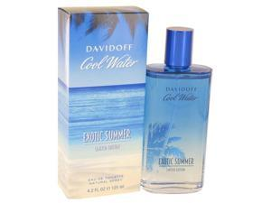Cool Water Exotic Summer by Davidoff Eau De Toilette Spray (limited edition) 4.2 oz
