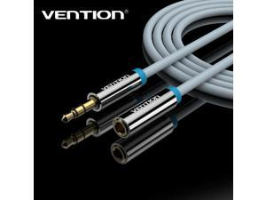 Vention VAB-B06 5 Meter 3.5mm Jack Male to Female Audio Stereo Aux Extension Cable