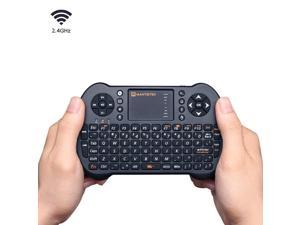 "MantisTekâ""¢ MK1 2.4GHz Wireless Mini Keyboard with Touchpad Mouse Remote Control for Android Windows"