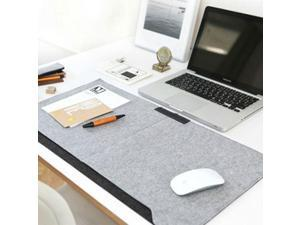 640*330 mm Warm Double-layer Multifunctional Office Desktop Mouse Pad With Pen Holder & 2 Pockets