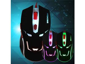 H7 USB Wired Office Gaming Mouse Scroll Wheel 6 Button 800-2000DPI
