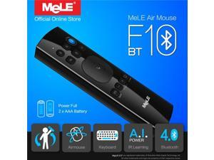 MeLE F10 BT Bluetooth Gyro IR Learning Wireless Air Mouse QWERTY Keyboard Remote Control