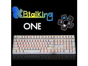 Cherry Green KBTKBTalking ONE 108 Backlit MechanicalGamingKeyboard