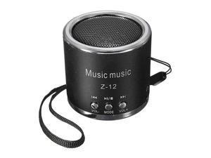 Portable Mini Speaker Amplifier FM Radio USB Micro SD TF Card MP3