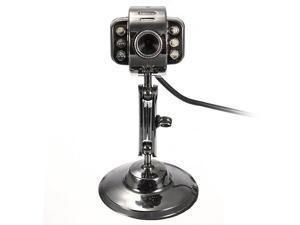 6 LED USB2.0 HD Webcam Web Cam Video Camera With Mic Night Vision