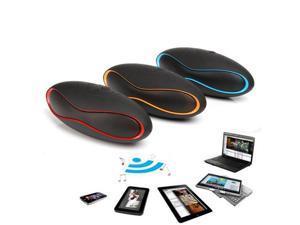 Portable Football Super Bass Bluetooth3.0 Speaker with Mic TF FM