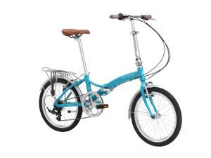 "Durban 20"" Folding Bike designed by, and created exclusively for guests of the Ellen DeGeneres Show (Turquoise)"