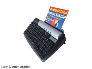 KS810-P Imaging Keyboard. High-resolution Document and ID Scanner in full-function PC keyboard plus USB 2.0 Hub