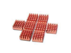 PcCooler VGA Ram Heatsinks Copper - 8 Pieces (RHS-03/B16)