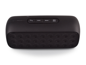 TLS23 Portable Wireless Bluetooth Speaker Audio Speaker Big Sound Box Support TF Card Hand-free Call Speaker with Smartphones Speaker for Desktop Laptop Tablet PC Mp3 MP4 MP5 etc (Black)