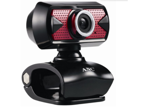 Aoni High Definition ANC  High Definition Focus Webcam 5 Megapixel with Built in Mic for Skype, Messenger, Windows Live, and Yahoo Video on Laptops and Desktop PC