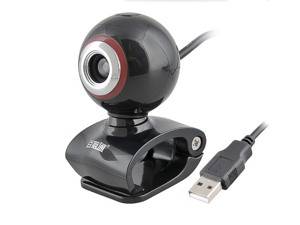 Aoni E68 5 Megapixel Webcam With Built-In Microphone  with microphone PC video  for Skype, Messenger, Windows Live, and Yahoo Video on Laptops and Desktop PC