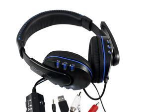 Stereo Sound Wired Gaming Headset for Game Player PS4/PS3/PC/Xbox 360 Gaming Headset Stereo Earphone