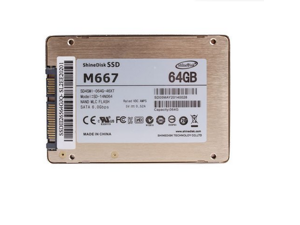 Shinedisk M667 64GB SSD Laptop Computer Internal Solid State Drive 2.5inch State Ii State III 64GB Hard Drive