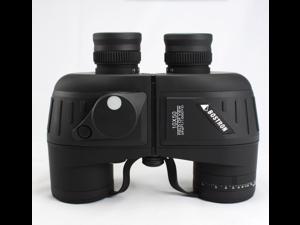 Bostrom 10x50mm Nitrogen waterproof Night  Vision Binoculars with HD high-powered night vision big eyepiece with compass Ranging Telescope